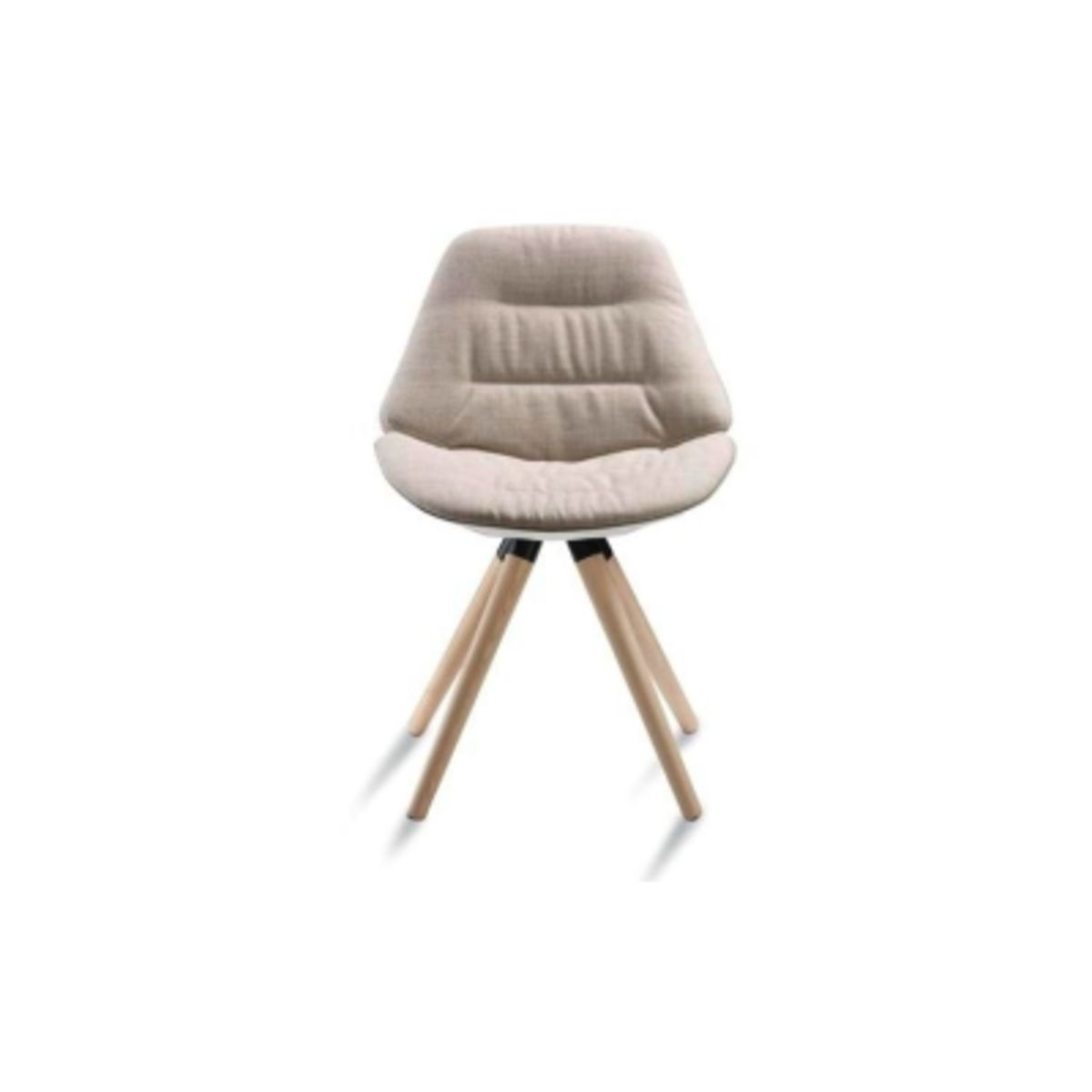 Cool Eon Upholstered Dining Chair Wood Base By Diemme Pabps2019 Chair Design Images Pabps2019Com