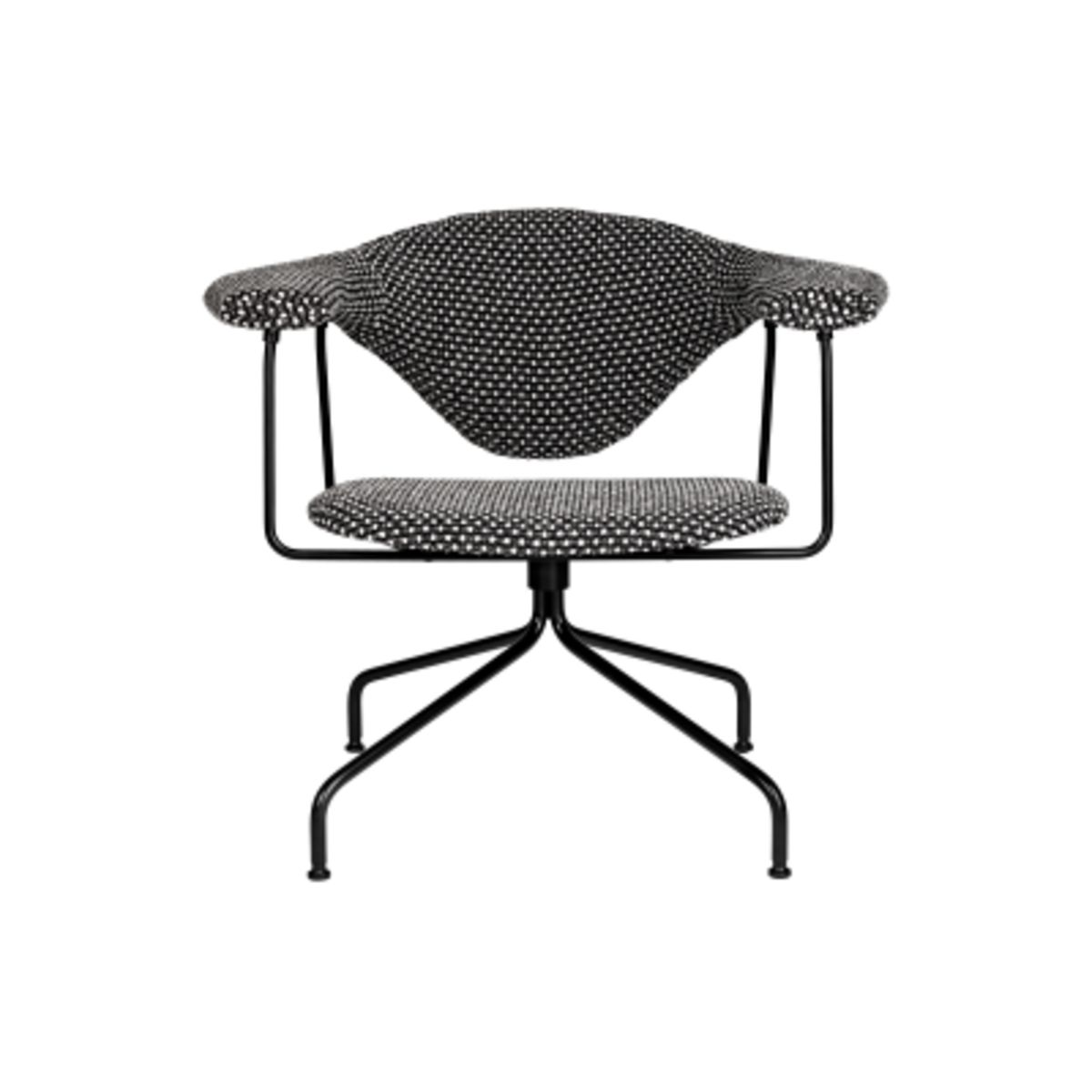 Masculo Lounge Chair Swivel Base Price Grp 01 By Gubi