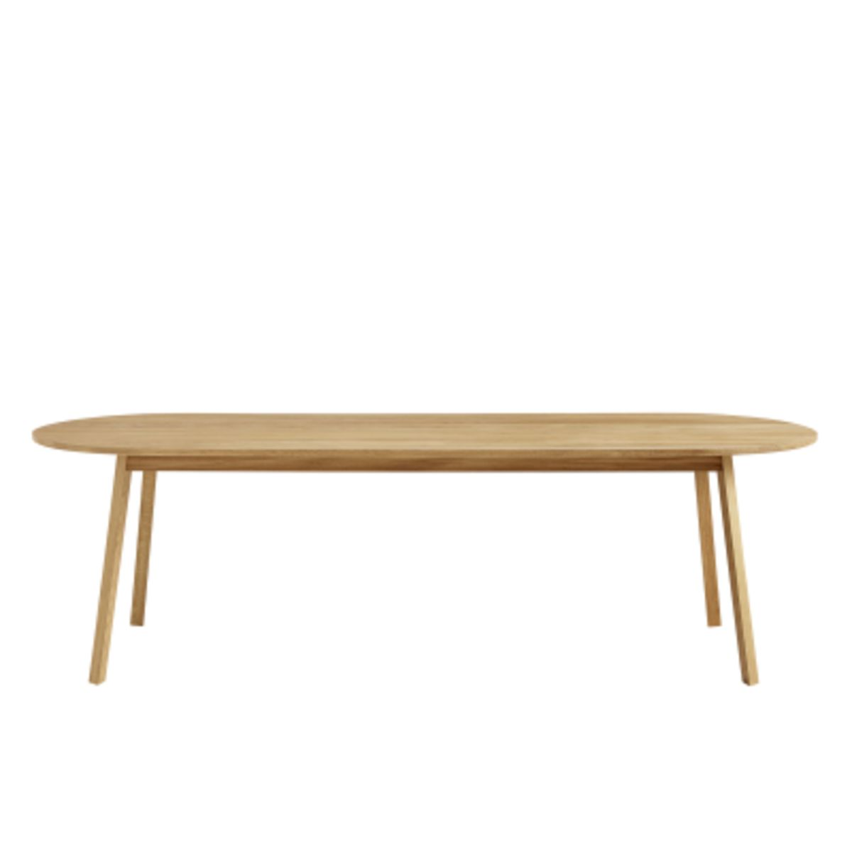 Incredible Shop Triangle Leg Obround Dining Table Gmtry Best Dining Table And Chair Ideas Images Gmtryco