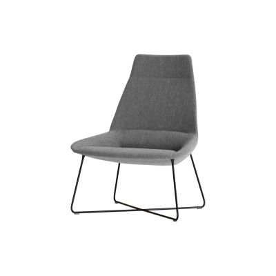 Luxembourg Lounge Stoel.Dunas Xl Lounge Chair 4 Wooden Base Breakout Lounge Armchairs