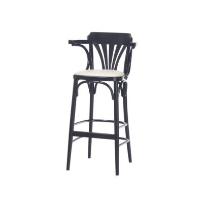 135 Barstool upholstered by TON