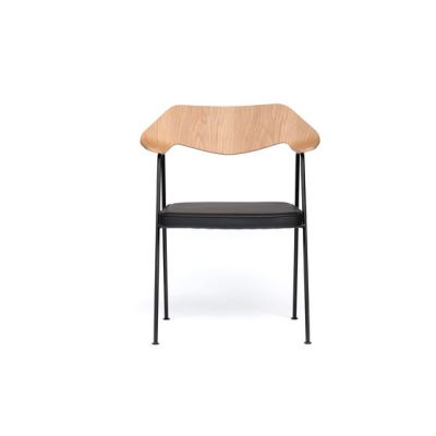 675 chair oak and black by Case Furniture