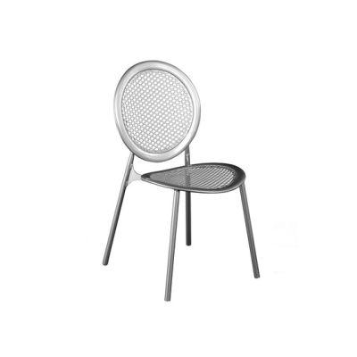 Antonietta Chair - Set of 4 Antique Iron