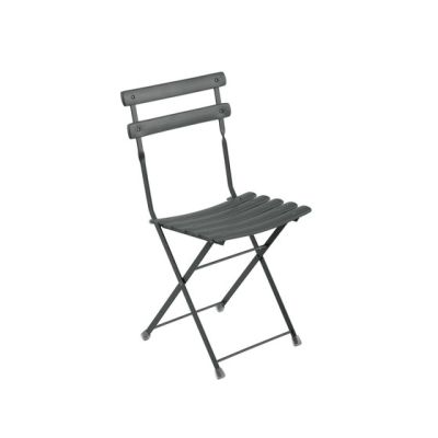 Arc en Ciel Folding Chair - Set of 12 Dark Green 75