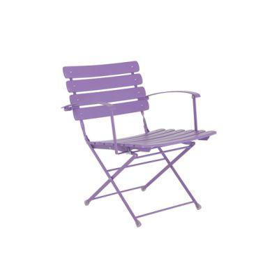 Arc en Ciel folding armchair - set of 2 Lilac