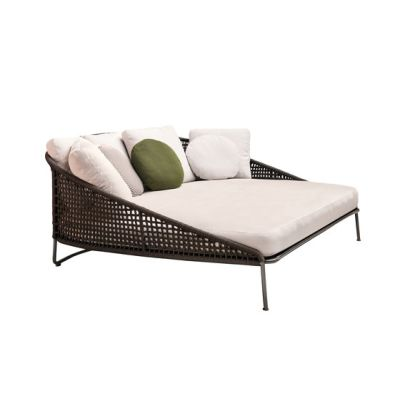 "Aston ""Cord""Outdoor Loveseat by Minotti"