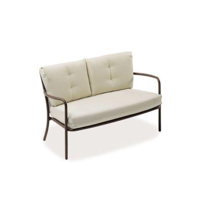 Athena Two Seats Sofa Black