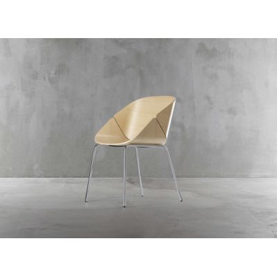 Baba chair 1626-10 by Plank
