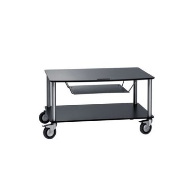 Base TV-Trolley with 2 shelfs + DVD tra by Cascando