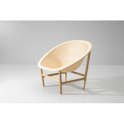 Basket club chair by KETTAL