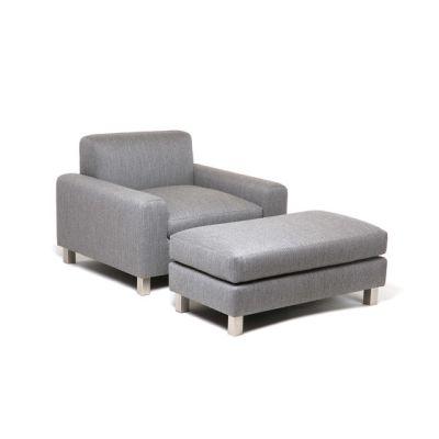 Baxter Chair | Baxter Ottoman by Naula