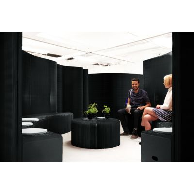 benchwall | black paper by molo