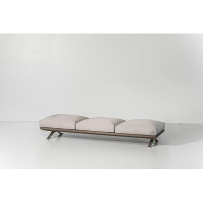 Boma bench 3-seater by KETTAL