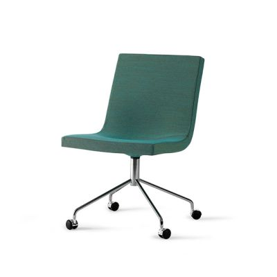 Bond chair with castors by OFFECCT