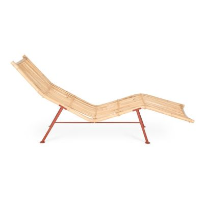 Cane Chaise Longue by Lensvelt