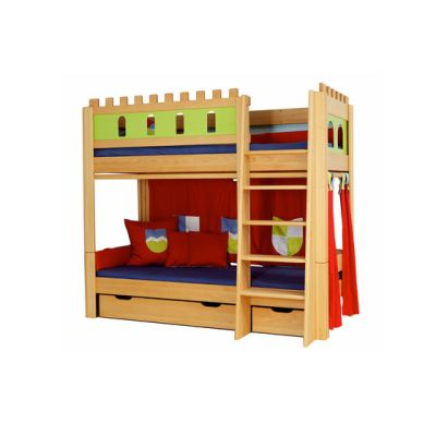 Castle Bunk bed with a guard DBA-208.9 by De Breuyn