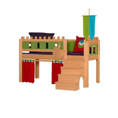 Castle medium-high game bed DBA-208.1 by De Breuyn