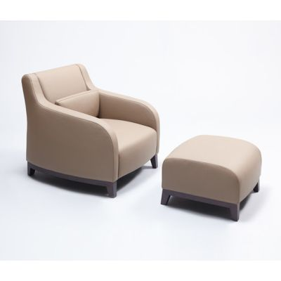Collins Armchair and Ottoman by Comforty