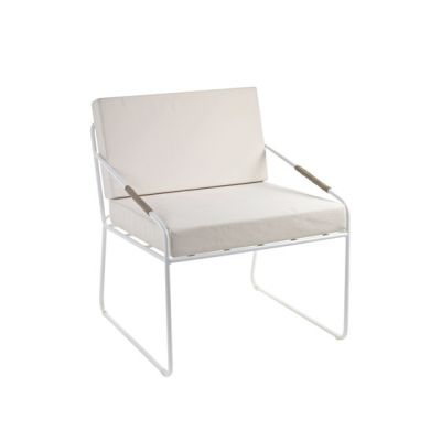 Colonel Seat and Cushion white by Serax
