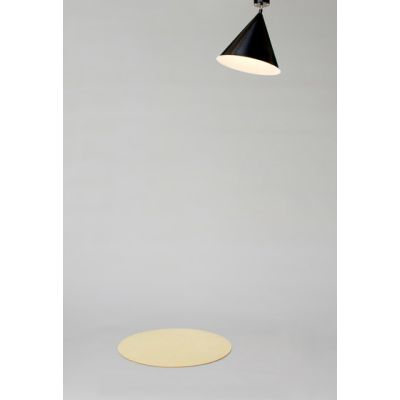 Cone and Plate Ceiling Lamp by Atelier Areti