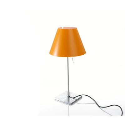Costanzina table, Alu Base, Smart Yellow Shade