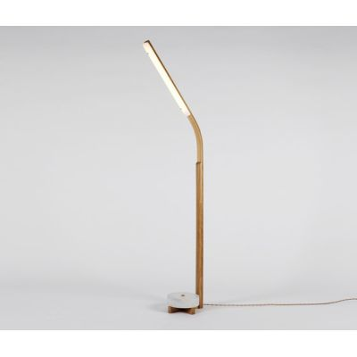Counterweight Floor lamp ash by Fort Standard