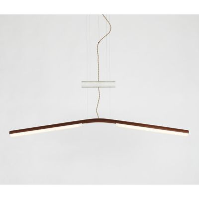 Counterweight Pendant walnut by Fort Standard