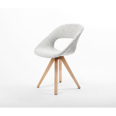 Diagonal Solid Chair by dutchglobe