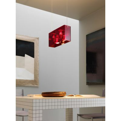 Duplex Suspension lamp by FontanaArte