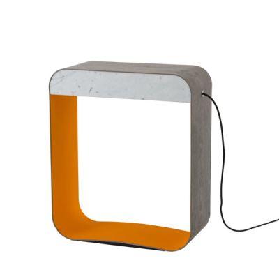Eau de lumière Floor lamp Large Square by designheure