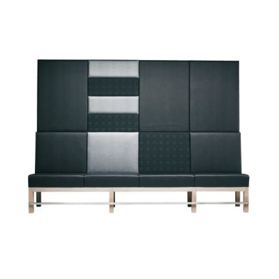 Edge Sofa High-E/62 + Wall Panels by Hutten