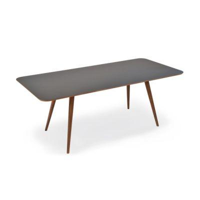 Ena - linn table by Gazzda