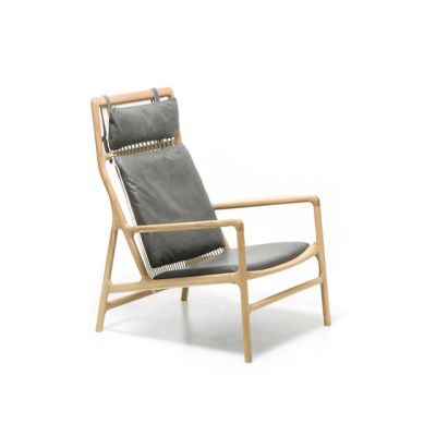 Fawn - dedo lounge chair dakar by Gazzda