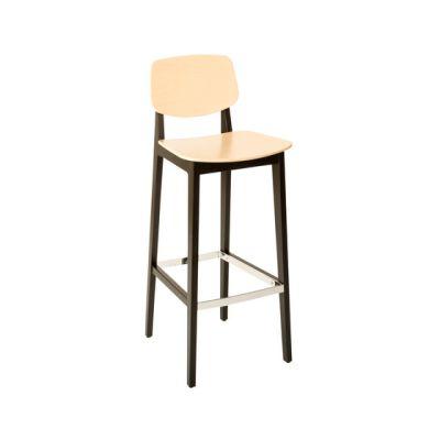 Felber C14 Wood Barstool by Dietiker