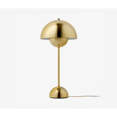 FlowerPot Table VP3 polished brass by &TRADITION