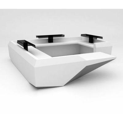 Fold Desk configuration 10 by isomi Ltd