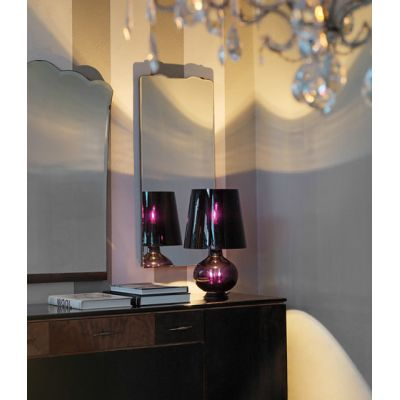 Fontana Total Black Table lamp medium by FontanaArte