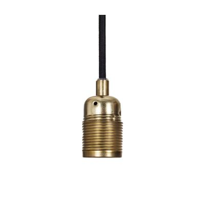 Frama E27 Pendant Brass by Frama