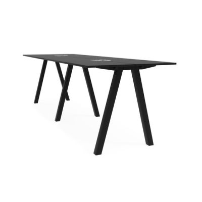 Frankie bench desk high A-leg 110cm by Martela Oyj