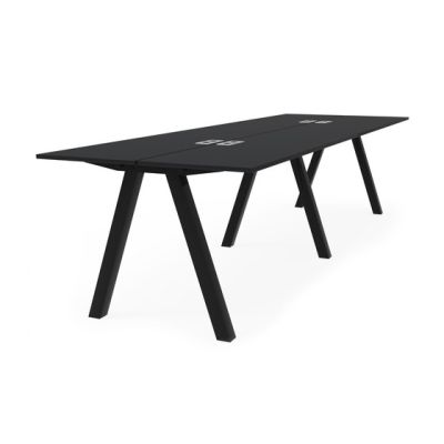 Frankie bench desk high A-leg 90cm by Martela Oyj