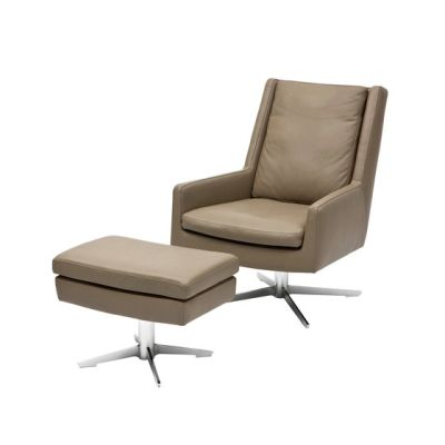 Gerry Loungechair with footrest by Christine Kröncke