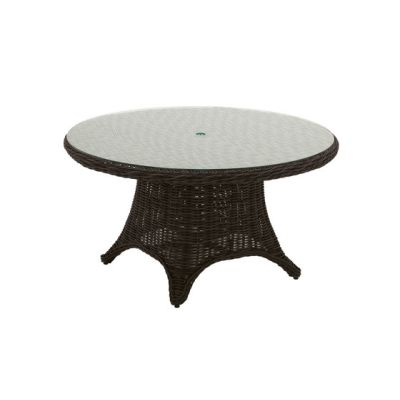 Havana 54 inch Round 6-Seater Table by Gloster Furniture