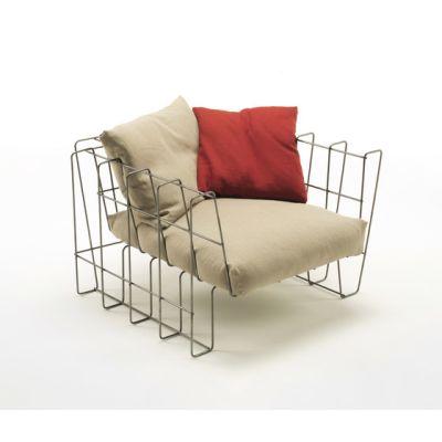 Hoop Armchair by Living Divani