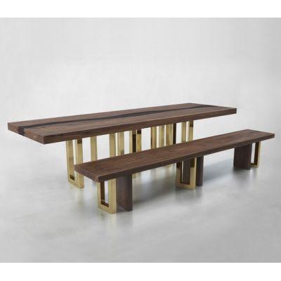 IL PEZZO 6 BENCH & TABLE by Il Pezzo Mancante
