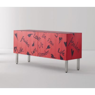 Intarsia | Sideboard Freedom by Laurameroni
