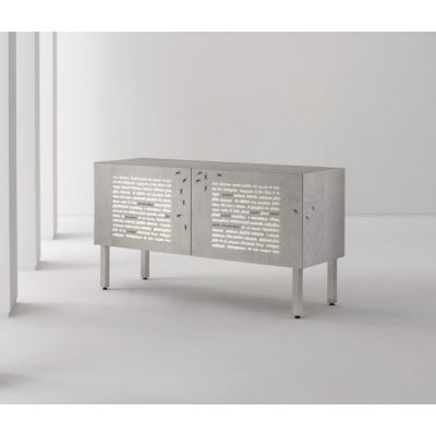Intarsia | Sideboard Le Formiche Nere by Laurameroni