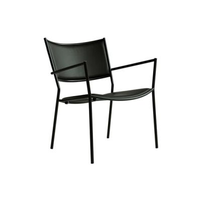 Jig Easy Chair Black - Fabric A