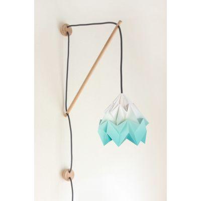 Klimoppe Moth Gradient – Mint by Studio Snowpuppe