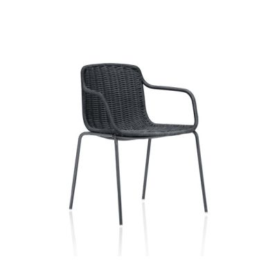 Lapala Hand-woven dining armchair by Expormim