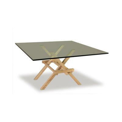 Leonardo Dining Table - Glass Top